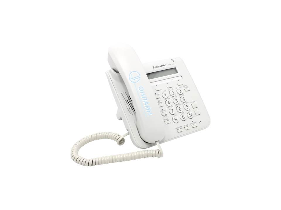 KX-NT511PRUW системный IP телефон Panasonic