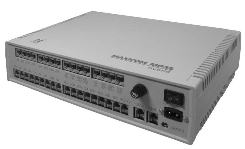 Базовый комплект Максиком MP35 (2x8) BK208U