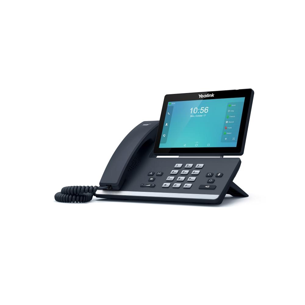 SIP-T58A SIP-телефон, цветной сенсорный экран, Android, WiFi, Bluetooth, GigE, без CAM50, без БП