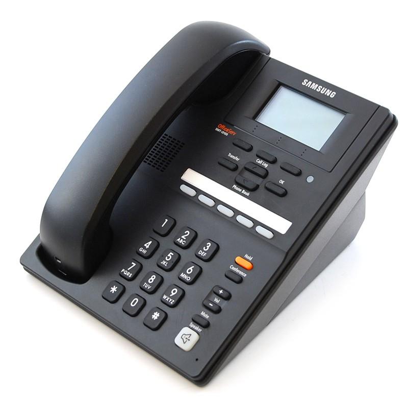 Samsung SMT-i3105D/UKA SIP телефон ЖКД, 5 программ. клавиш, русифицированный (с блоком питания, в упаковке)