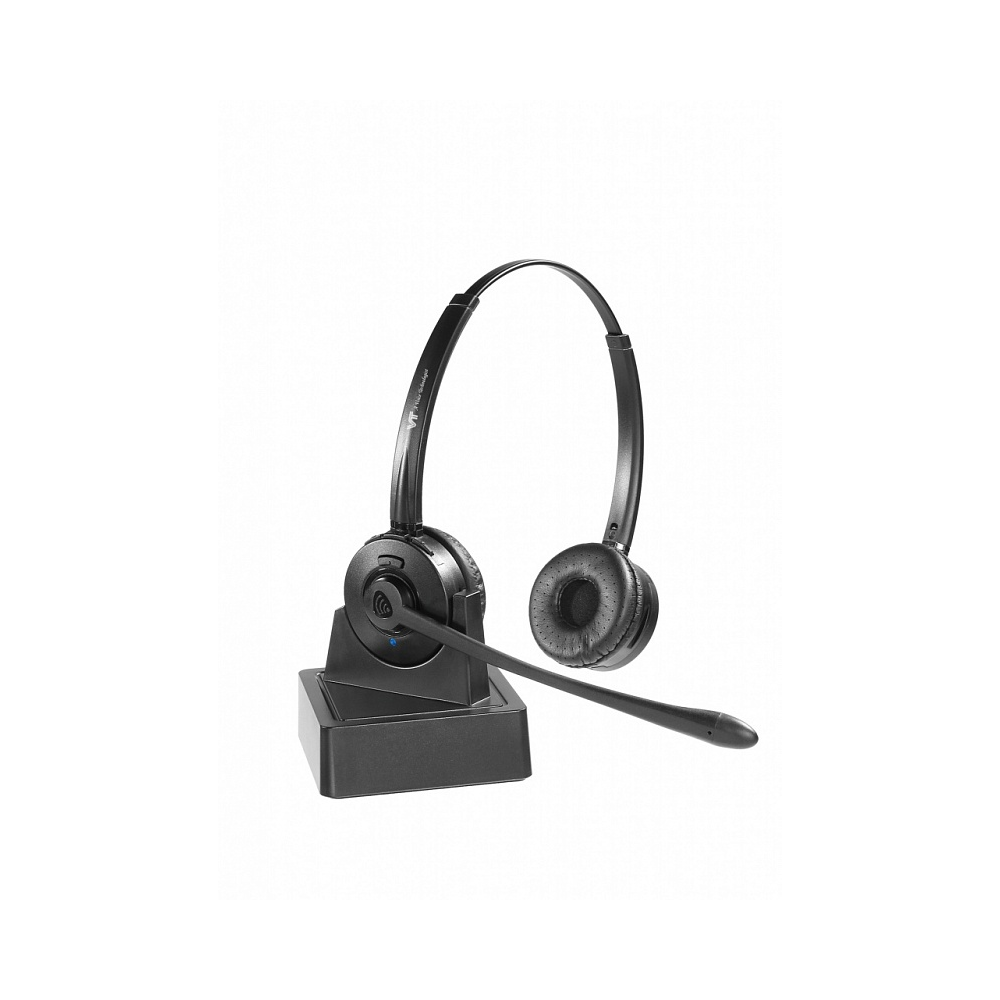 VT9500-D Гарнитура головная VT, Дуо, HD звук, 10м Bluetooth