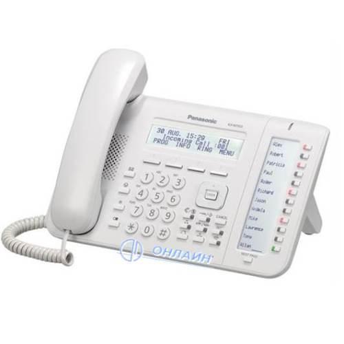KX-NT553RU системный IP телефон Panasonic, 24 клавиши, ЖК дисплей