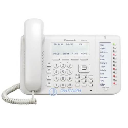 KX-NT556RU системный IP телефон Panasonic, 6-ти строчный дисплей