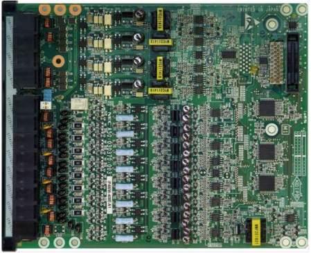 IP4WW-408E-A1 Карта 4 городских абонентских линий и 8 внутренних гибридных портов для АТС NEC SL1000