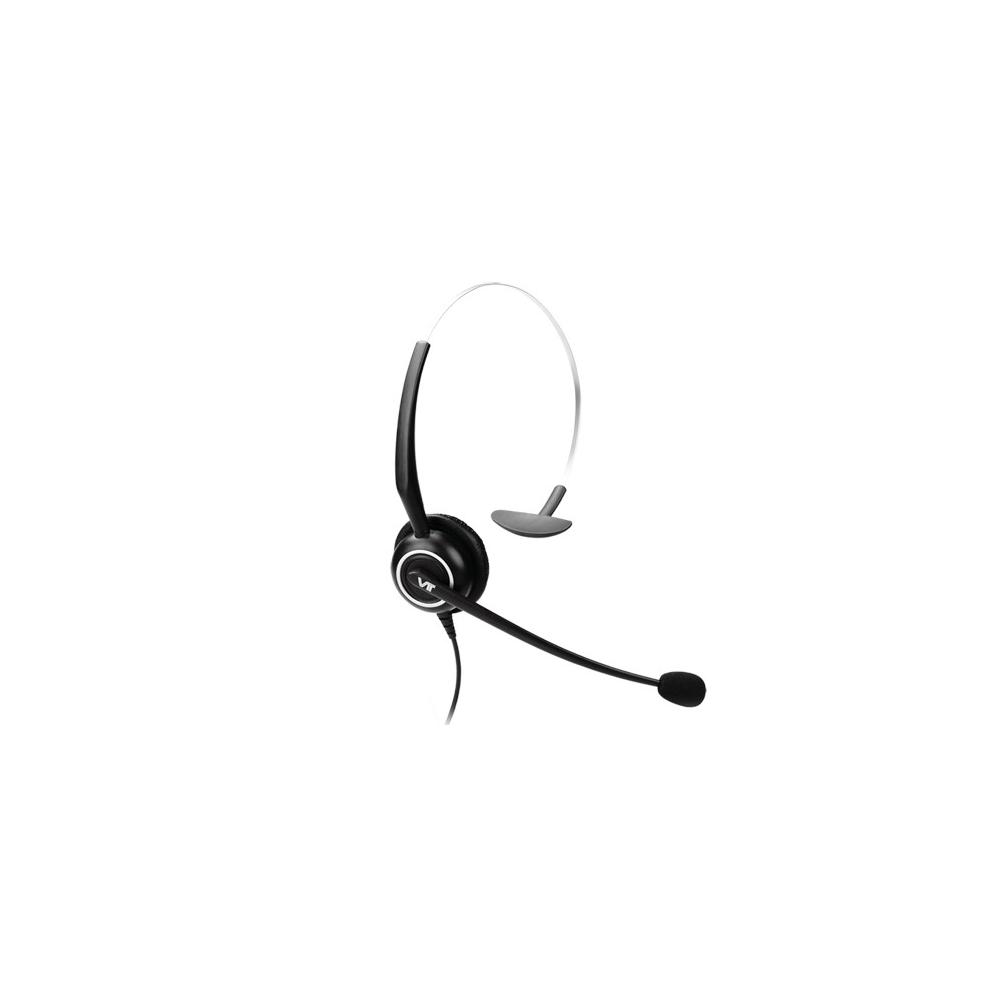 VT5000 QD(P)-RJ9(03) Гарнитура головная VT, Моно, узкополосный звук, QD, переходник QD-RJ09(03)