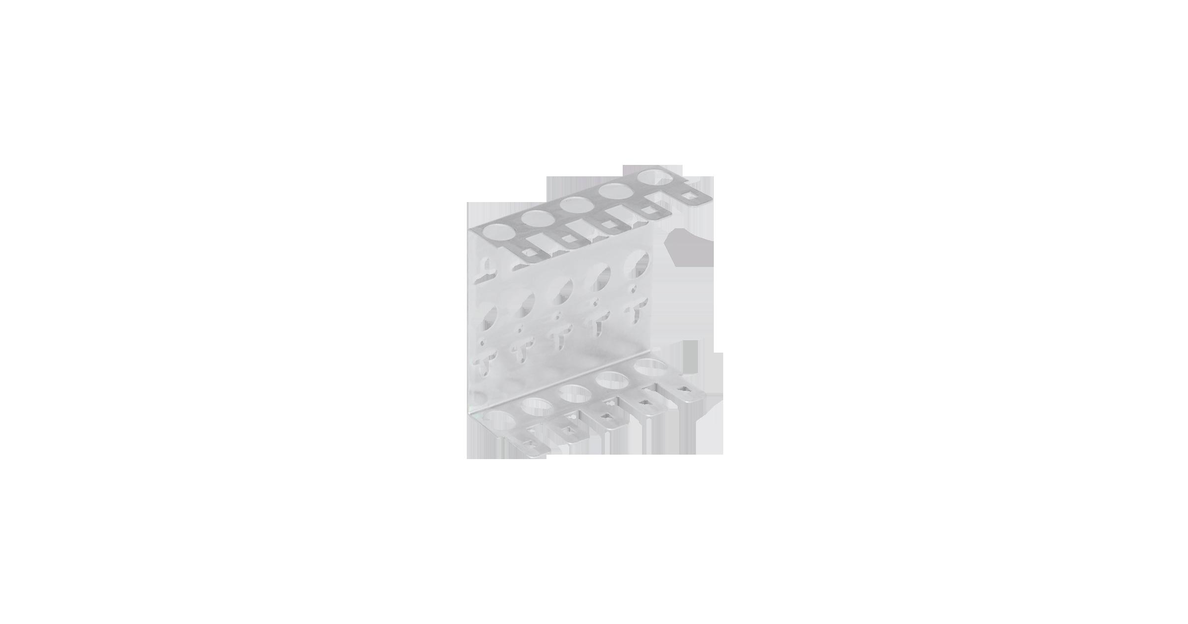 NMC-WCPL5-2 Кронштейн NIKOMAX настенный, на 5 плинтов, металлический, уп-ка 2шт.