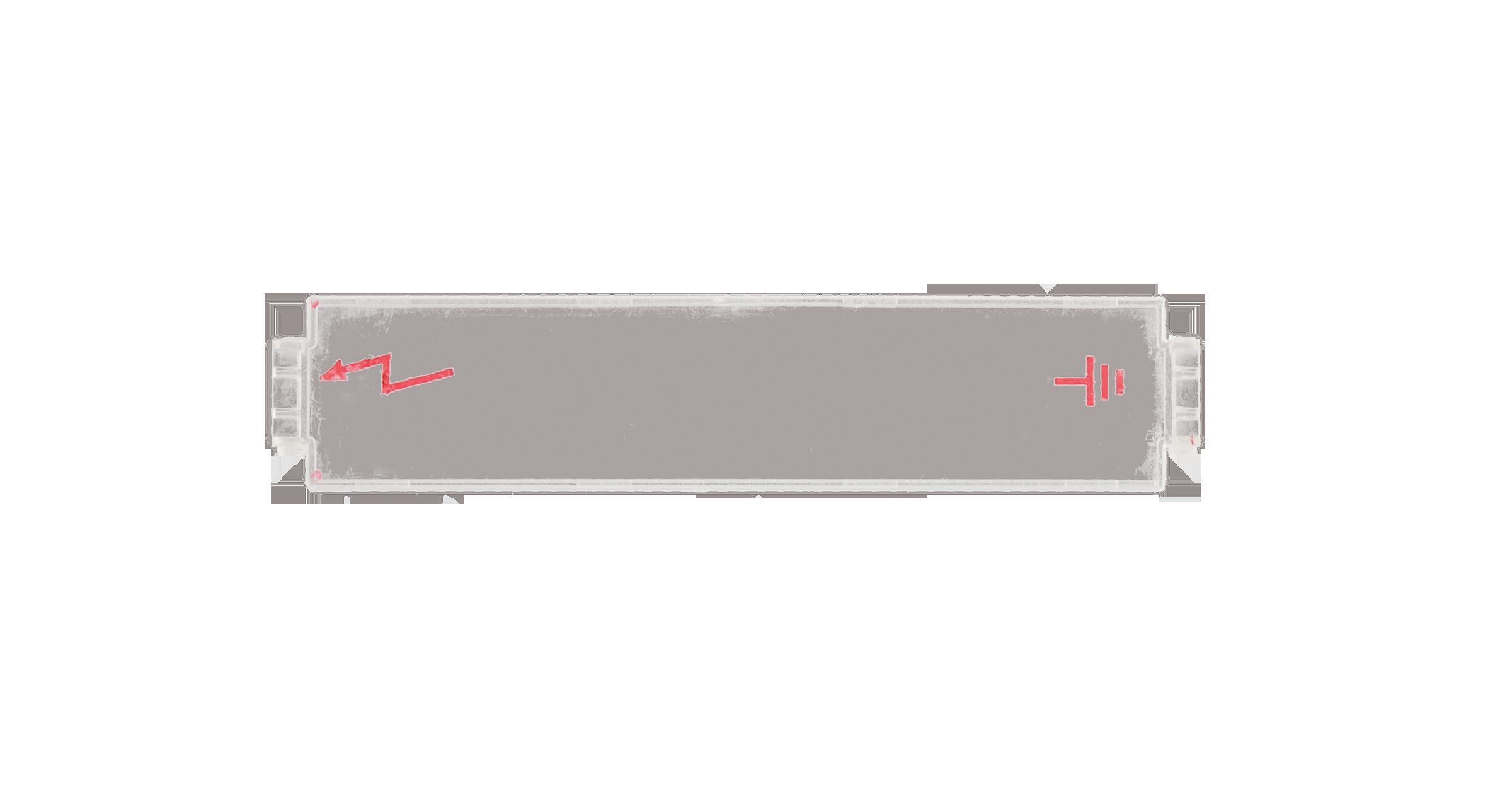 NMC-PL-PM-COVER Противопылевая крышка NIKOMAX для магазина защиты по напряжению, прозрачная