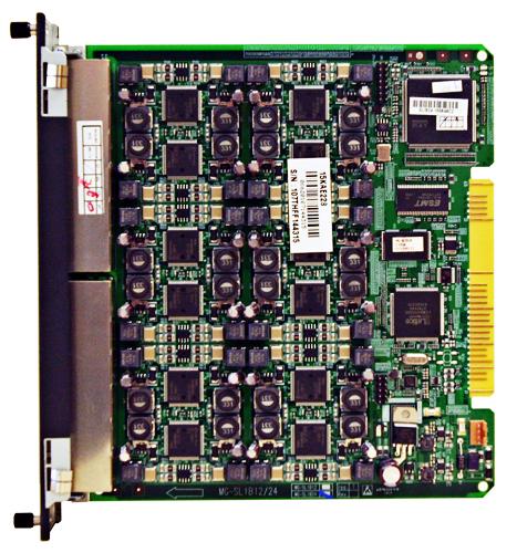 MG-SLIB24 Плата аналоговых телефонов (24  порта, подключение RJ-45)