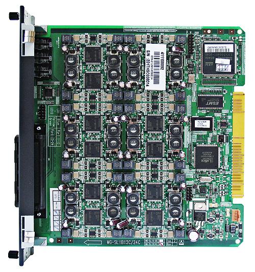 MG-SLIB24C Плата аналоговых телефонов (24 порта)