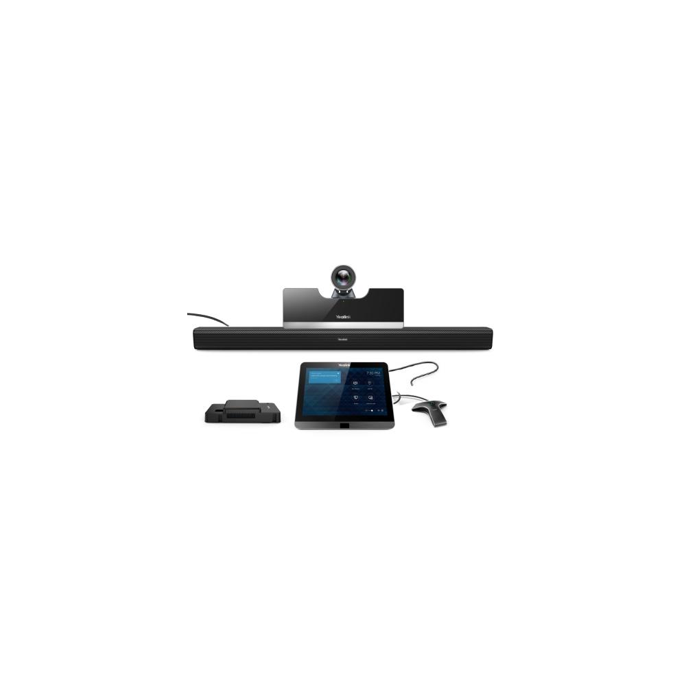 MVC500-Wired Терминал видеоконференцсвязи, видеокамера UVC50 5x, сенсорная панель управления MTouch, адаптер контента MShare, саундбар MSpeaker, микрофонный массив VCM34, мини-ПК