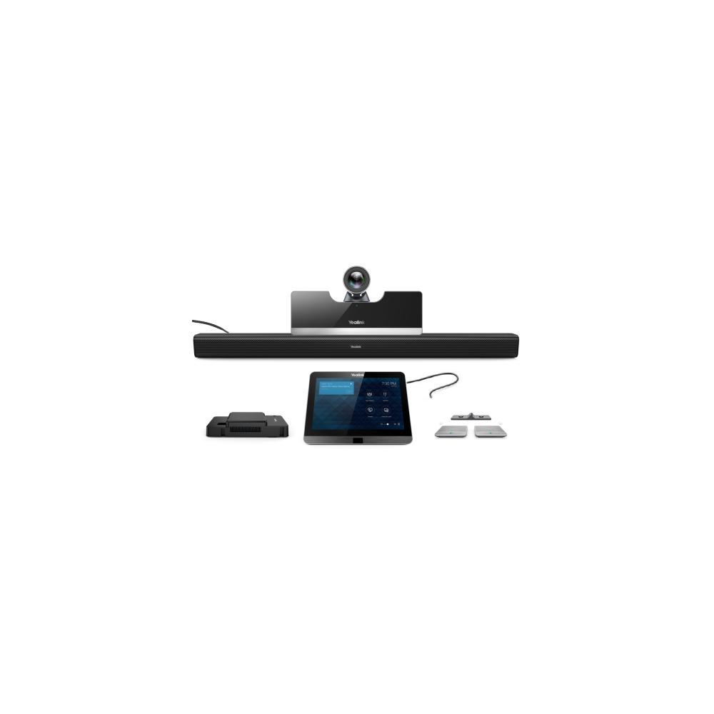 MVC500-Wireless Терминал видеоконференцсвязи, видеокамера UVC50 5x, сенсорная панель управления MTouch, адаптер контента MShare, саундбар MSpeaker, беспроводной микрофон CPW90-2 шт., мини-ПК