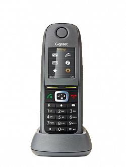 DECT-трубка Gigaset R650H PRO, цветной дисплей, фонарик, HD звук, IP65, виброоповещение