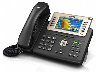 SIP-T29G SIP-телефон, цветной экран, 16 линий, BLF, PoE, GigE