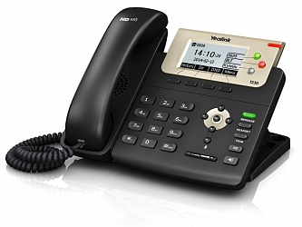 Yealink SIP-T23G SIP-телефон, 3 линии, BLF, PoE, GigE