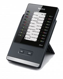 EXP40 модуль расширения с LCD для телефона SIP-T46G, SIP-T48G