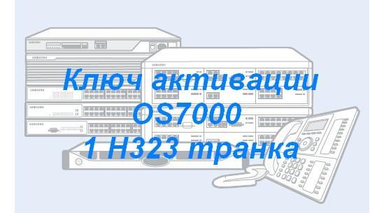 OS7-WHS01/SVC Ключ активации OS7000 1 H323 транка