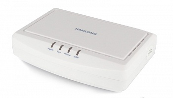 Hanlong Unicorn 3001 SIP-адаптер 1*WAN, 1*FXS