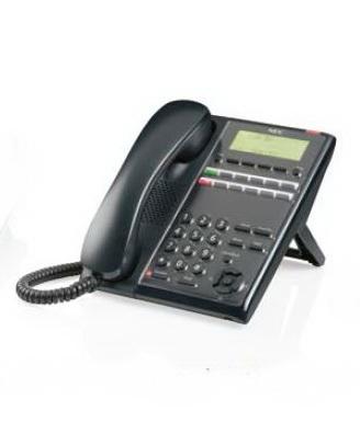 IP7WW-12TXH-A1-TEL (BK) Системный телефон, ЖКД, 12клавиш, черный, для АТС NEC SL2100