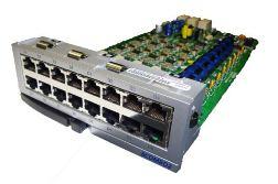 OS7400B8H4/EUS Модуль абонентских линий (8 цифровых + 8 аналоговых портов), CID, DTMF-приемники