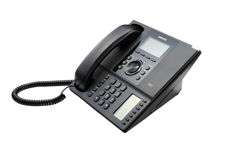 SMT-i5230D/UKA SIP телефон ЖКД, 5 программ. клавиш с прокруткой по назначению, клавиша навигации, русифицированный