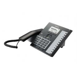 SMT-i6011K/EUS SIP телефон LCD экран 3*2 (128х64), WiFi/Bluetooth, PoE, GbE, 12 программ. клавиш, US