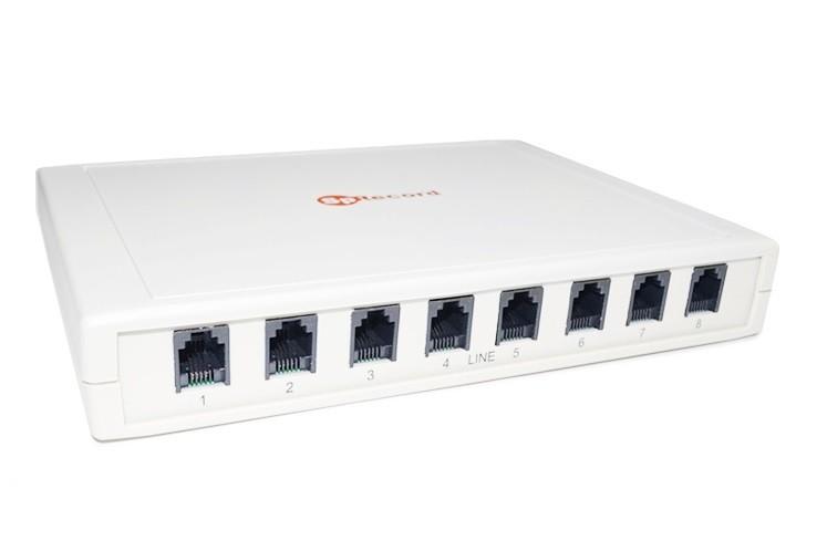 SpRecord А8 б/у Система записи телефонных разговоров на 8 аналоговых линий