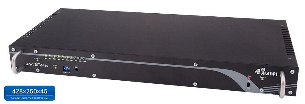 Шлюз Агат GT-3410-1E1 (1 поток E1 ISDN PRI (EDSS1))