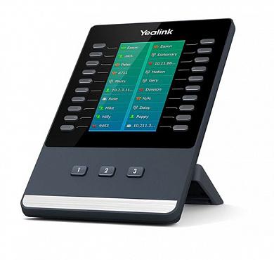 EXP50 модуль расширения с LCD для телефонов SIP-T58V(A), SIP-T56A