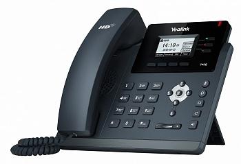 Yealink SIP-T40G SIP-телефон, 3 линии, BLF,  PoE, GigE, БЕЗ БП