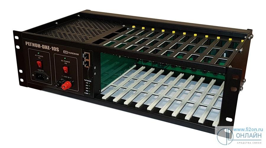 Регион DXE-10S базовый блок, 10 слотов, формат 19
