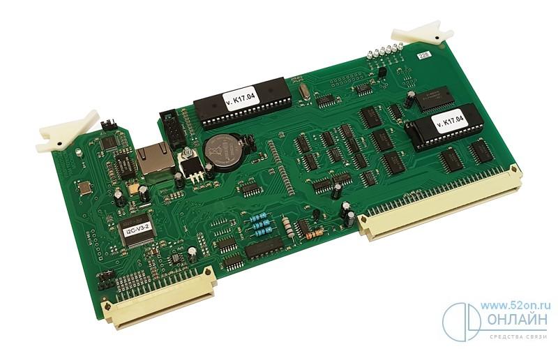 Регион CPX-LAN/TN Плата центрального процессора с DTMF-процессором и портом Ethernet/IP