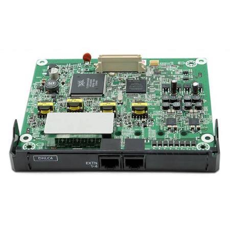KX-NS5170X 4-портовая плата цифровых гибридных внутренних линий (DHLC4) для IP АТС Panasonic KX-NS500