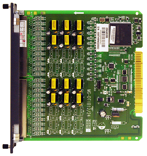 MG-DTIB12 Плата цифровых телефонов (12 портов, подключение RJ-45)