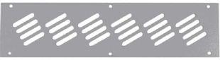 TLK-BLNK-CAB-P-GY Заглушка кабельного ввода TLK, перфорированная, 300х76х1мм, серая