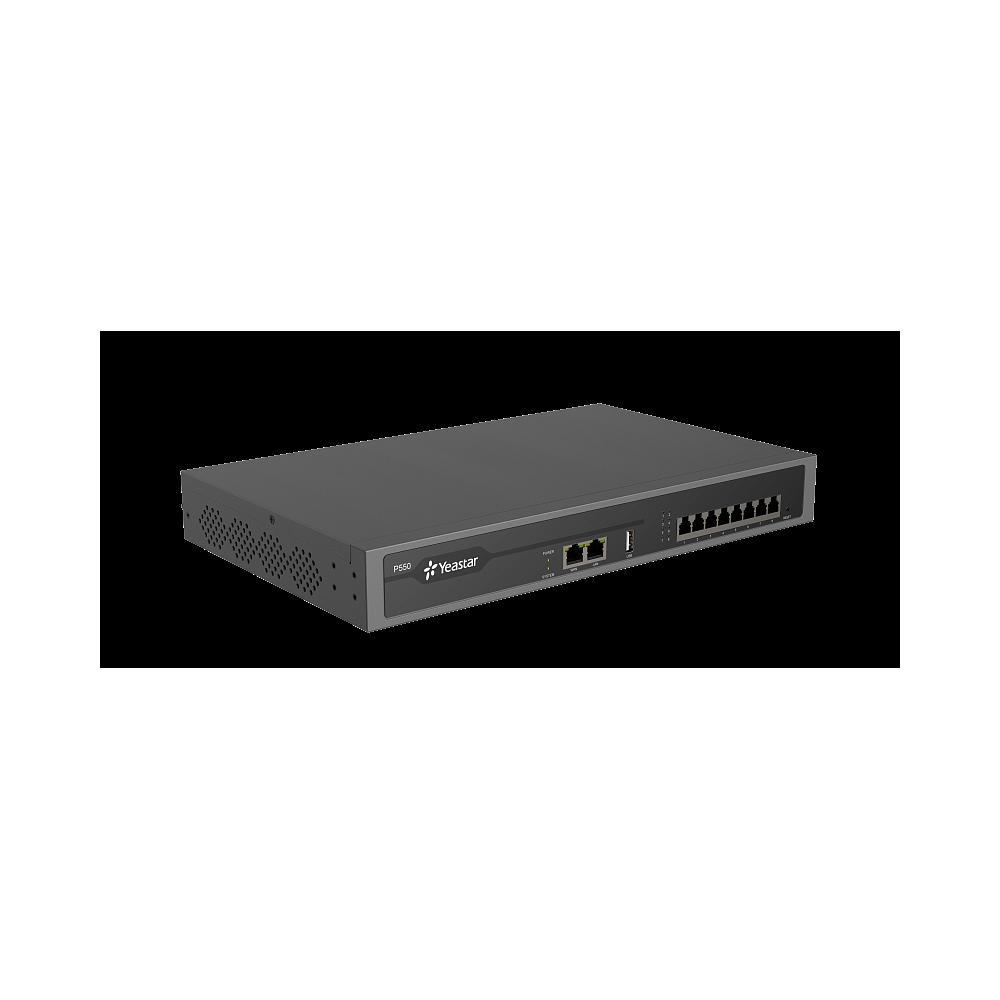YEASTAR P550, IP-АТС на 50 абонентов и 25 вызовов, поддержка FXO, FXS, GSM, BRI