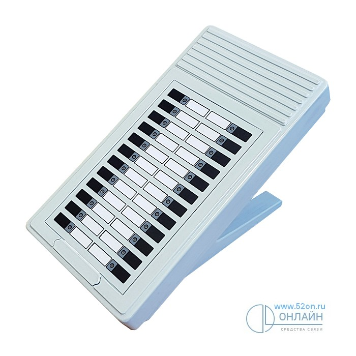 Регион-КЛП консоль для работы с Регион-120ХТ и Регион-DXE, пластиковый корпус, 24 программируемые абонентские клавиши, двухцветная индикация