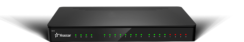 YEASTAR S412, IP-АТС, поддержка FXO, FXS, GSM, BRI, LTE