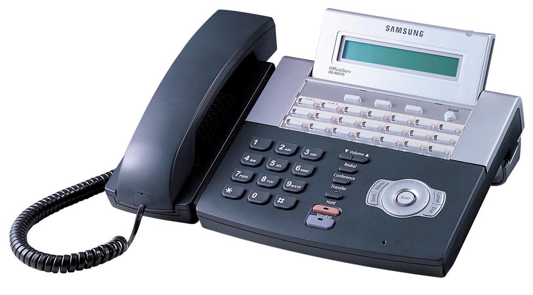 Samsung KPDP21SER/RUA б/у Цифровой телефон с РУС.ЖКИ на 21 программ.клавиши (DS-5021)