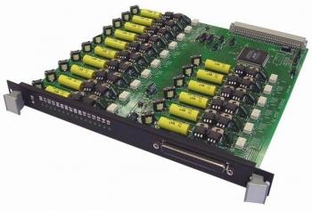ТЭЗ А-16Т Плата 16 аналоговых абонентских комплектов