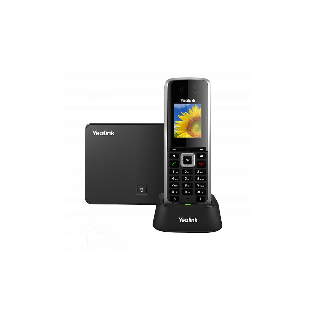 W52P DECT SIP-телефон (база+трубка)