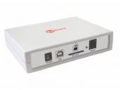 SpGate MR GSM-шлюз, 1 GSM-канал, 1 порт FXS, передача данных (GPRS) и SMS, запись разговоров на SD-карту, голосовое приветствие, автоответчик