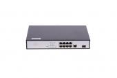 GL-SW-F104-08P Коммутатор GIGALINK, Web-Smart, 8 PoE (802.3 af/at) портов 100Мб/с, 1 1000BaseT порт, 1 SFP порт 1000Мбит/с, 150Вт