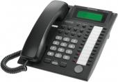 KX-T7735RU-B Аналоговый системный телефон Panasonic с ЖК 24 клавиши, черный