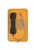 JR103-FK-Y-SIP Промышленный SIP телефон, клавиатура, PoE, 2 SIP аккаунта