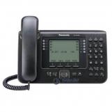 KX-NT560RU-B Системный IP-телефон Panasonic, черный, 6-ти строчный дисплей