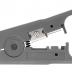 NMC-S501B Инструмент NIKOMAX универсальный, для зачистки и обрезки плоских и круглых кабелей (до 9мм) с жилами из мягких металлов (не для стали), с регулировкой глубины надреза оболочки
