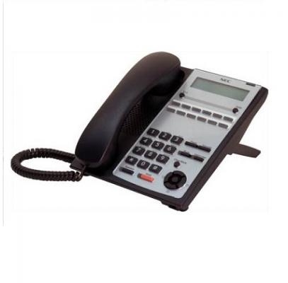 IP4WW-12TXH-A-TEL (BK) Системный телефон, ЖКД, 12клавиш, черный, для АТС NEC SL1000