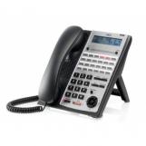 IP4WW-24TXH-A-TEL (BK) Системный телефон, ЖКД, 24 клавиши, черный, для АТС NEC SL1000