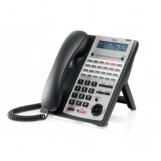 IP4WW-24TIXH-C-TEL (BK)  Системный телефон IP, ЖКД, 24 клавиши, черный, для АТС NEC SL1000