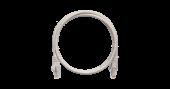 NMC-PC4UD55B-030-GY Коммутационный шнур NIKOMAX U/UTP 4 пары, Кат.5е (Класс D), 100МГц, 2хRJ45/8P8C, T568B, заливной, с защитой защелки, многожильный, BC (чистая медь), 24AWG (7х0,205мм), PVC нг(А), серый, 3м